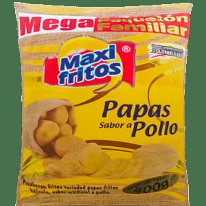 papas Pollo presentación Familiar