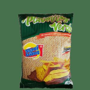 Deliciosos platanitos Verdes