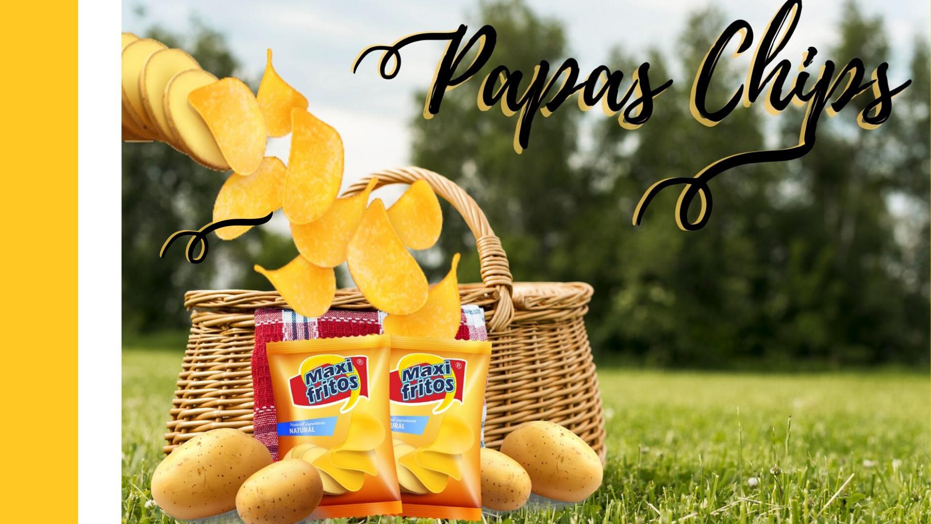 Maxifritos Nuestros productos papas chips