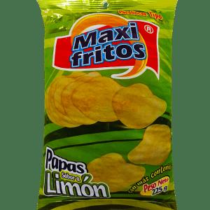 papas sabor a Limón